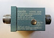 Narda 460B Integrated Thermocouple Power Monitor 10 MHz- 12.4 GHz, 30 db, 1.0 mW