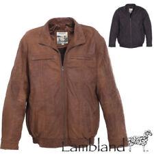 Jacken aus Leder mit Reißverschluss