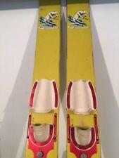 New listing Vintage 50s Wooden Skis White Bear Water Ski Company Minnesota Cabin  Lake Decor