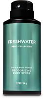 *NEW* Men's Freshwater ~3.7 oz~ Deodorizing Body Spray Bath & Body Works