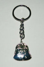 Star Wars Darth Vader Mask Enamel Metal Keychain 1995 NEW UNUSED