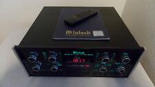 MCINTOSH MADE IN THE USA MX-130 PRE-AMP AM FM STEREO TUNER ORIG REMOTE & BOX