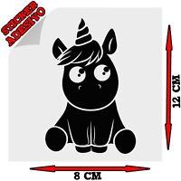 Sticker Adesivo Decal Unicorn Unicorno Tuning Auto Moto