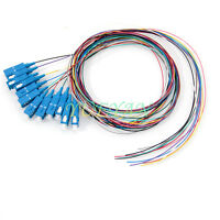 1.5M 12 fiber SC/UPC 9/125 Single-mode Fiber Optical Pigtail Cable PVC