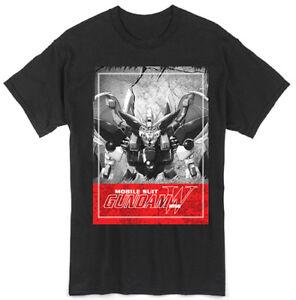 **Legit** Gundam Wing Mobile Suit Hero's Wing Gundam Authentic T-Shirt #25466