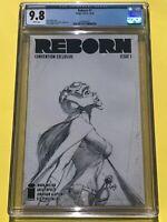 Reborn #1 CGC 9.8 Sketch Variant NYCC Greg Capullo Cover Image Comics