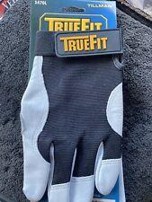 Mechanics Gloves,Black/Pearl,L,Pr 1470L
