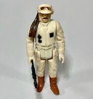 Star Wars Vintage 1980 Rebel Hoth Commander 100% Complete & Original Kenner