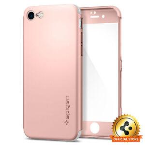 Spigen iPhone 7 Plus Case Air Fit 360 Rose Gold