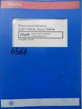 Werkstattbuch Reparaturleitfaden VW Golf Bora Elektrische Anlage #6566