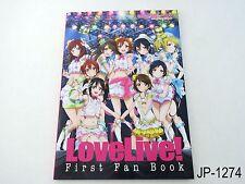 Love Live! First Fanbook Japanese Artbook Japan Illustration Book US Seller