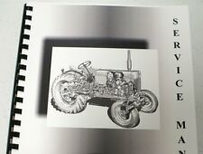 Misc. Tractors Adams Motor Grader 666 Std & Power Flow Chassis On Service Manual