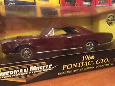 Ertl 1:18 1966 Pontiac GTO ToysRus Exclusive Color. Item 32814
