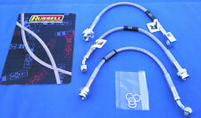 Buick Grand National- Regal - Stainless Braided Brake Lines - DOT LEGAL 3PC Kit
