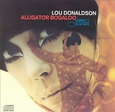 ALLIGATOR BOOGALOO: LOU DONALDSON (w/George Benson/Dr. Lonnie Smith) NEW CD