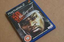 50 Cent RARE FIND PS2 Game and Music - Manual Box Excellent Order Aged 18+ Only