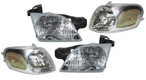 Venture Silhouette Montana Transport Left & Right Headlight & Corner Lamp Set