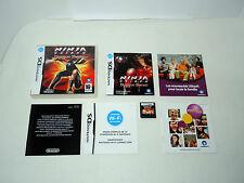 NINJA GAIDEN DRAGON SWORD complete in box with manual Nintendo DS videogame