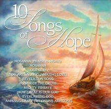 10 Songs Of Hope by Various Artists (CD, Jul-2012, Maranatha Music)