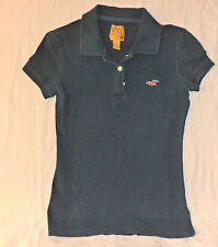 HOLLISTER SHORT SLEEVE  BLUE  BUTTON TOP COLLARED POLO      S       K#3922