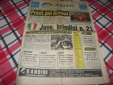 CORRIERE DELLO SPORT STADIO 7/4/1984 - Juventus, Brindisi N°21