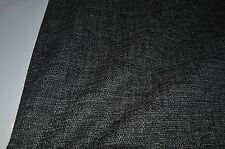 grey charcoal textured chenille upholstery thick fabric caravan sofa chair