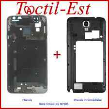 Chassis + Chassis intermédiaire pour Samsung Galaxy Note 3 Neo Lite N7505 Noir