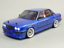 Custom RC 1/10 Drift BMW E30 3 SERIES AWD Belt CAR  RTR W/ LED LIGHTS