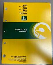 John Deere 4055 4255 Amp 4455 Tractors Operator Manual Omar110571 G1 Q 3