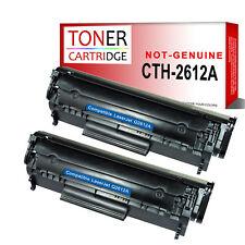 2 Toner Cartridge for HP Laserjet Q2612A 12A 1010 1012 1015 1018 1022 1022N