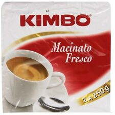 20 Kimbo Kaffee Macinato Fresco ground Coffee Italian 5kg Caffè Espresso