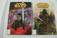 Star Wars Revenge of the Sith Volumes 1 & 3 Hardback Childrens Books, Ex-Library