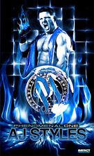Official Tna Impact Wrestling - Aj Styles 3 x 5 ft Banner
