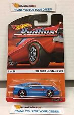 '84 Ford Mustang SVO * BLUE * 2015 Hot Wheels * RedLine Heritage * B19