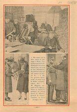Grands Boulevards de Paris Scout Timbre Antiturberculeux/André Maginot 1933