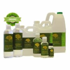 Liquid Gold Premium Fractionated Coconut Oil Pure&Organic for Skin Hair Fresh