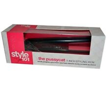Style 101 The Pussycat Flat Iron - Black by Sultra for Unisex - 1 Inch Flat Iron