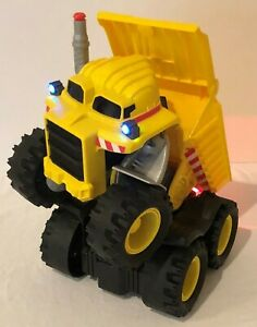 Matchbox Rocky Dump Truck 2008 Interactive Robot Talks Dances Lights Sound Moves