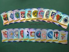 Topps Champions League 2016 17 all 22 Badges Logos Wappen Club Match Attax UEFA