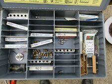 Large JANDORF Flashlight Metal Display Box with Bulbs and Testers