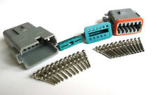 Amphenol AT 12Pin Sealed Connector Set - Deutch DT Compatible good for 16/18 AWG