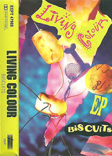 LIVING COLOUR BISCUITS CASSETTE EP 6TRACKS covers of Hendrix, James Brown, Al Gr
