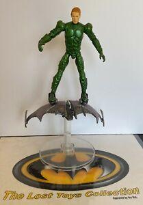 Spider-Man Movie Green Goblin Marvel Action Figure 2002 Hasbro 6 in complete.