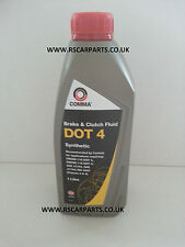 Dot4 COMMA Dot 4 Synthetic Brake And Clutch Fluid 1 Litre BF41L Collection only