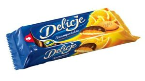 Delicje Biscuits with orange jelly jaffa cakes 8x147g -OUT OF DATE!-SAFE TO EAT