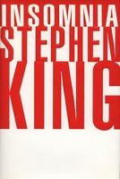 INSOMNIA by Stephen King a *HUGE* Hardcover Book FREE SHIPPING steven