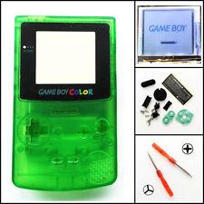 GBC Nintendo Game Boy Color Frontlit Frontlight Mod Kit Clear Green