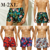 Mens Boys Swimming Board Shorts Swim Shorts Trunks Swimwear Summer Beach Pants