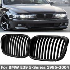 Black Front Hood Kidney Grill Grille For BMW 5 Series E39 525 528 M5 97-03 US