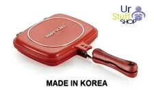 """Happycall Happy Call Double Sided Grill Pressure Frying Pan 21CM 8"""" Tracking no."""